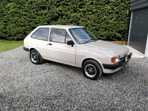 1985 Stunning, UK Registered, Low Mileage Ford Fiesta mk2 SOLD