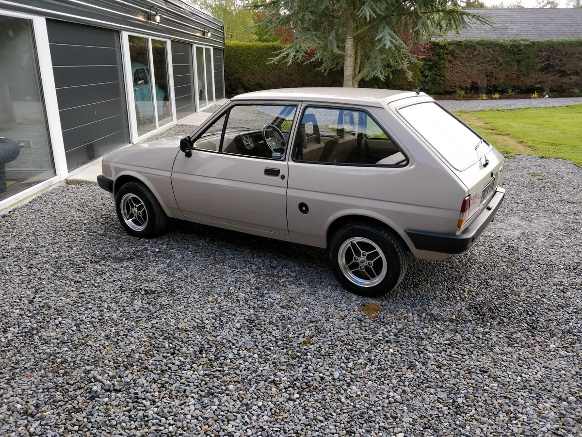 1985 Stunning, UK Registered, Low Mileage Ford Fiesta mk2 SOLD (picture 4 of 6)