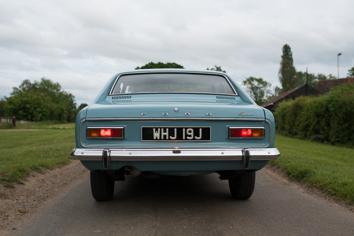 1970 Ford Capri - immaculate condition for summer! For Sale (picture 5 of 6)