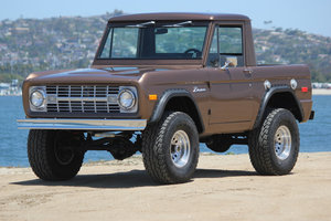 1971 Ford Bronco = 302 auto Mods Buckets Solid driver $46.5k
