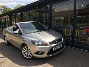 2009 Ford Focus CC3 convertible SOLD