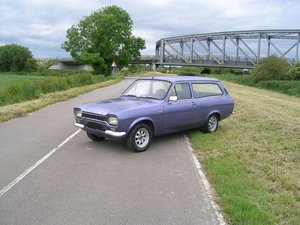 1971 Ford Escort Mark 1 1300 XL Estate Historic Vehicle For Sale