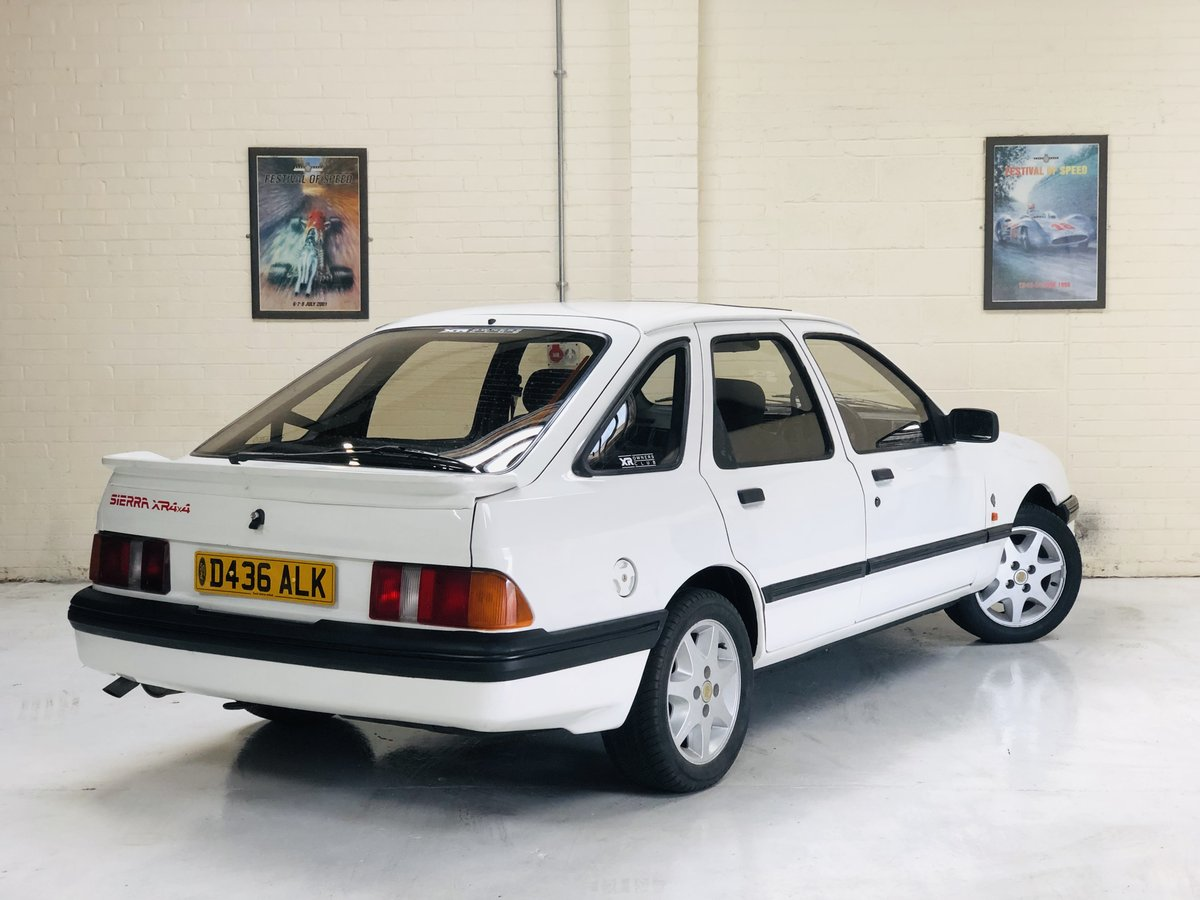 1986 FORD SIERRA XR4X4 MK1 - VERY RARE CAR, SUPER VALUE SOLD (picture 3 of 6)