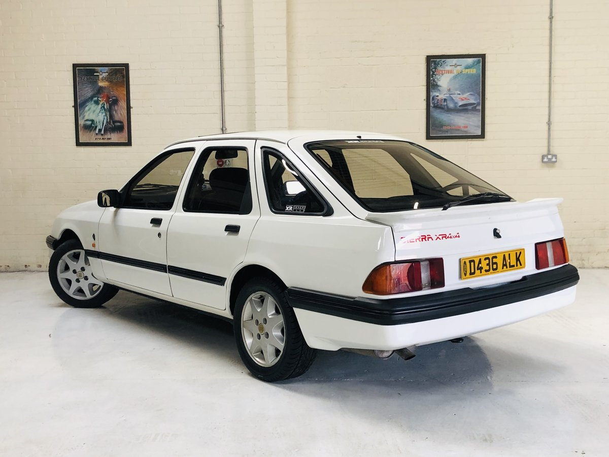 1986 FORD SIERRA XR4X4 MK1 - VERY RARE CAR, SUPER VALUE SOLD (picture 4 of 6)
