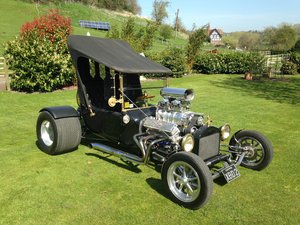 Ford T Bucket Hot Rod & Trailer 1915 Incredible
