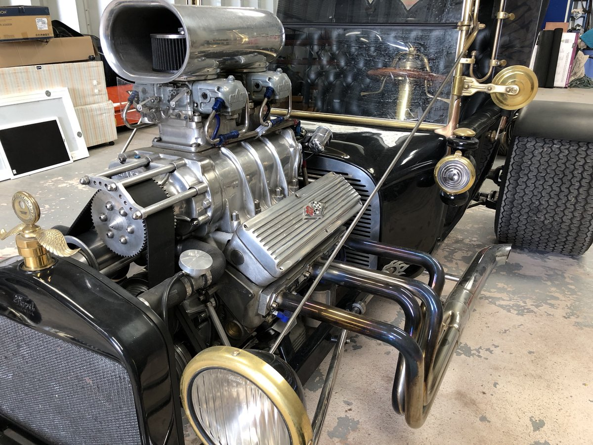 Ford T Bucket Hot Rod & Trailer 1915 Incredible  For Sale (picture 2 of 6)