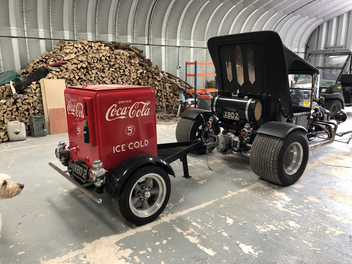Ford T Bucket Hot Rod & Trailer 1915 Incredible  For Sale (picture 3 of 6)