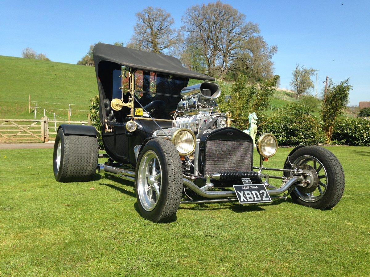 Ford T Bucket Hot Rod & Trailer 1915 Incredible  For Sale (picture 5 of 6)