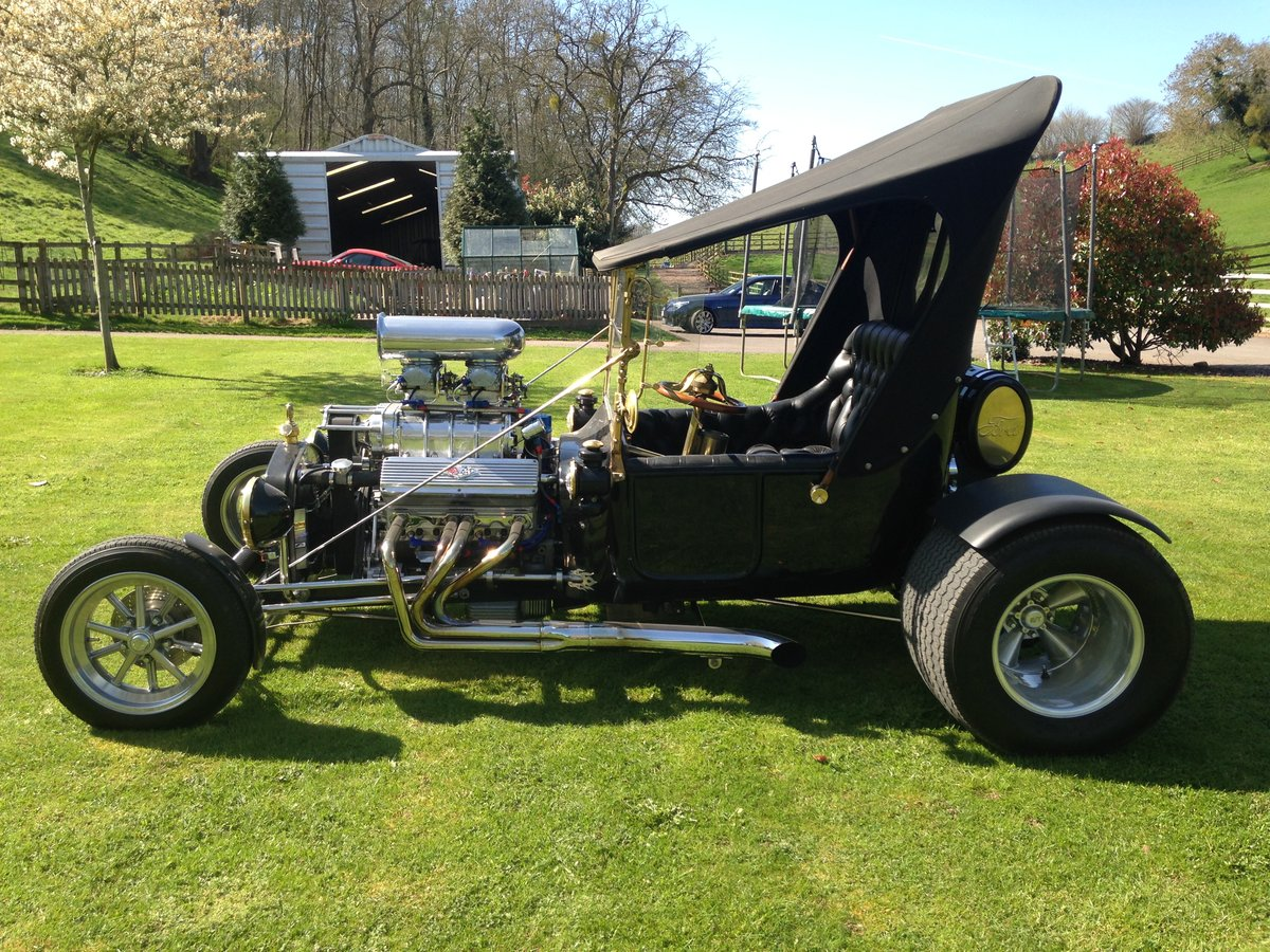 Ford T Bucket Hot Rod & Trailer 1915 Incredible  For Sale (picture 6 of 6)