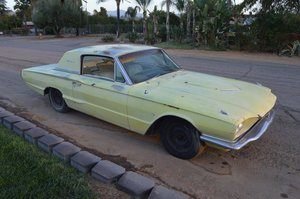 1966 ford thunderbird saloon 2 door  project 390 auto v8  For Sale