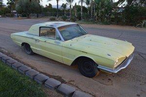 1966 ford thunderbird saloon 2 door  project 390 auto v8