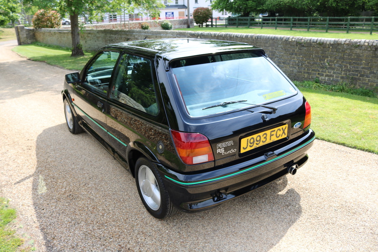 1991 Ford Fiesta RS Turbo Amazing Condition (Rare Standard Spec C SOLD (picture 4 of 6)