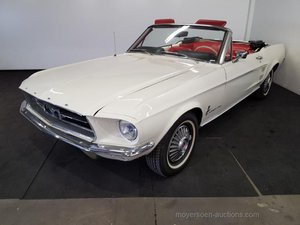 Ford Mustang Cabrio wit 1965  For Sale by Auction