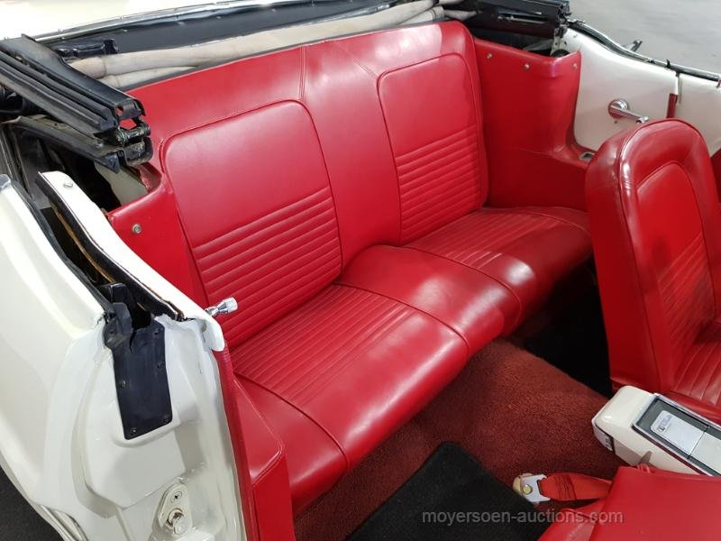 Ford Mustang Cabrio wit 1965  For Sale by Auction (picture 5 of 6)