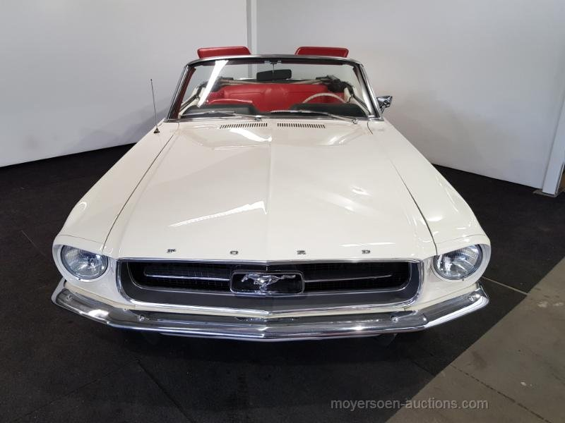 Ford Mustang Cabrio wit 1965  For Sale by Auction (picture 6 of 6)