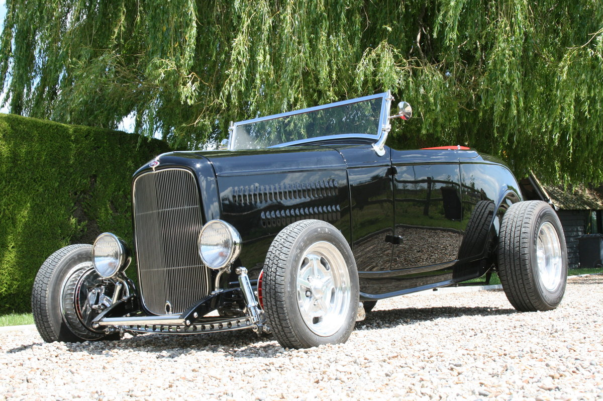 1932 '32 Ford Model B Highboy Roadster V8 Hot Rod,All Steel Body For Sale (picture 1 of 6)