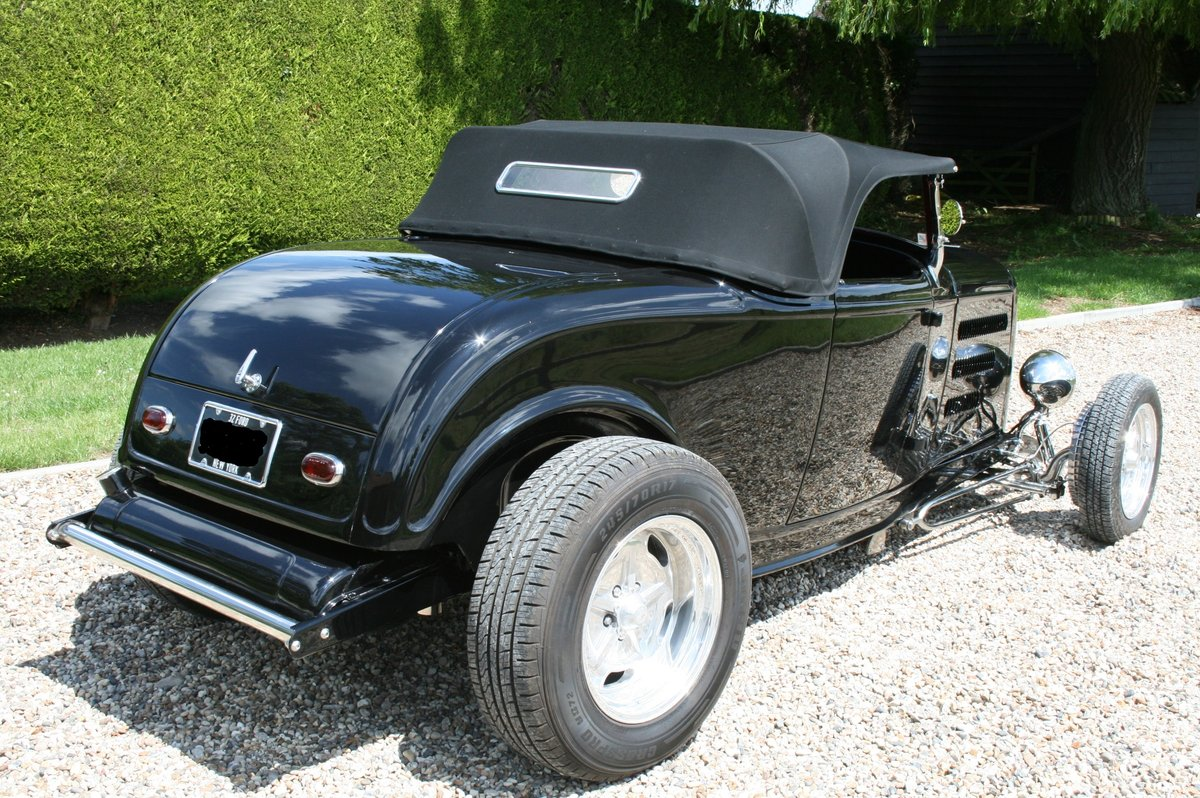 1932 '32 Ford Model B Highboy Roadster V8 Hot Rod,All Steel Body For Sale (picture 2 of 6)