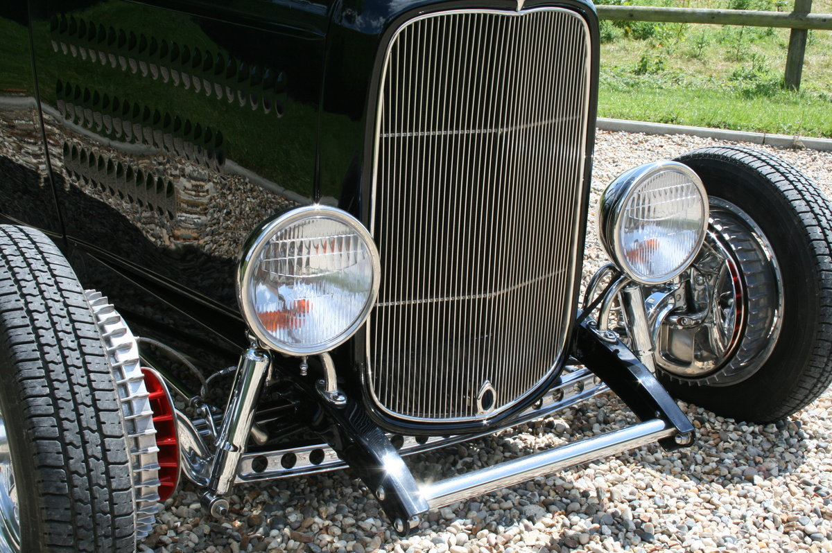 1932 '32 Ford Model B Highboy Roadster V8 Hot Rod,All Steel Body For Sale (picture 6 of 6)