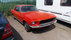1967 Ford mustang barn find project For Sale