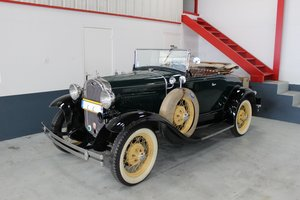 1931 Ford A Roadster Deluxe Finition For Sale