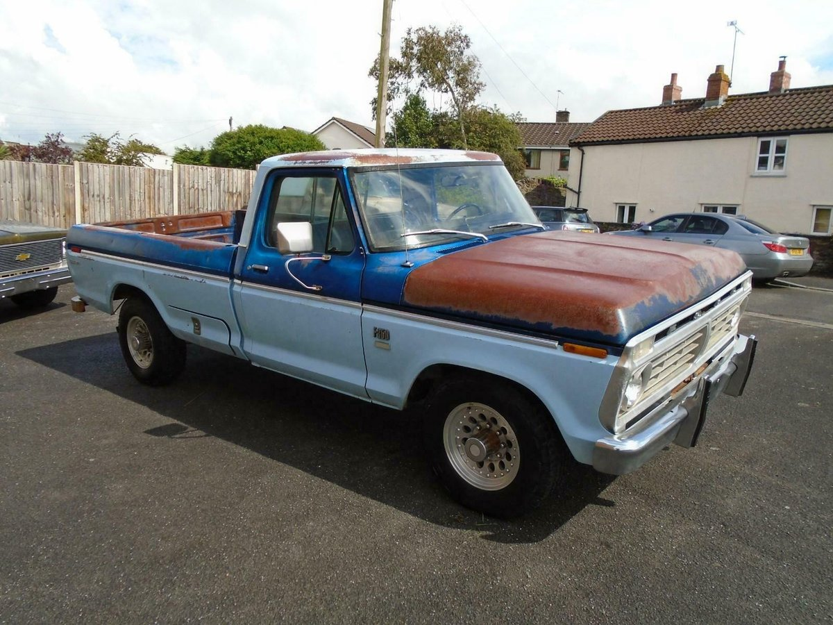 FORD F250 CUSTOM 360 5.9 V8 2WD LWB PICKUP(1976)RUSTFREE! SOLD (picture 1 of 6)