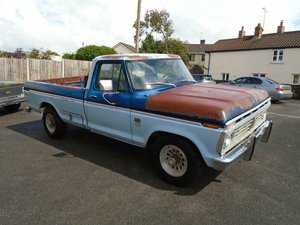 FORD F250 CUSTOM 360 5.9 V8 2WD LWB PICKUP(1976)RUSTFREE! SOLD