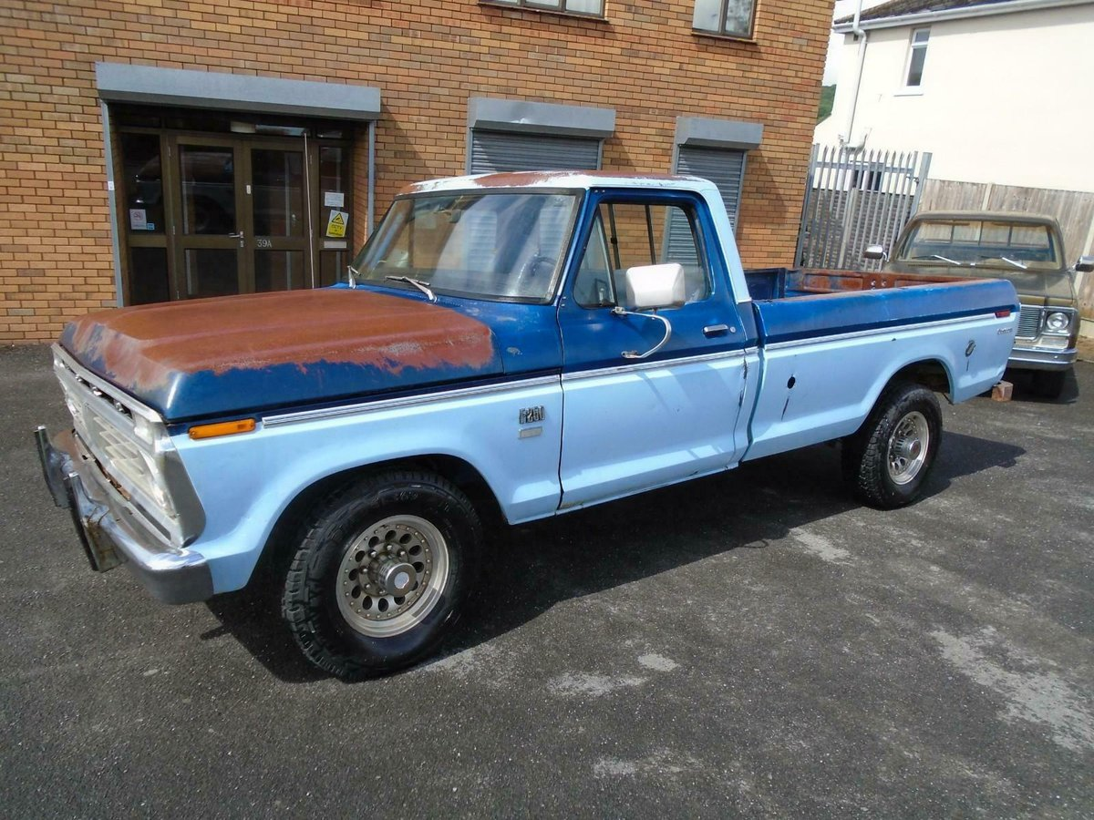 FORD F250 CUSTOM 360 5.9 V8 2WD LWB PICKUP(1976)RUSTFREE! SOLD (picture 2 of 6)