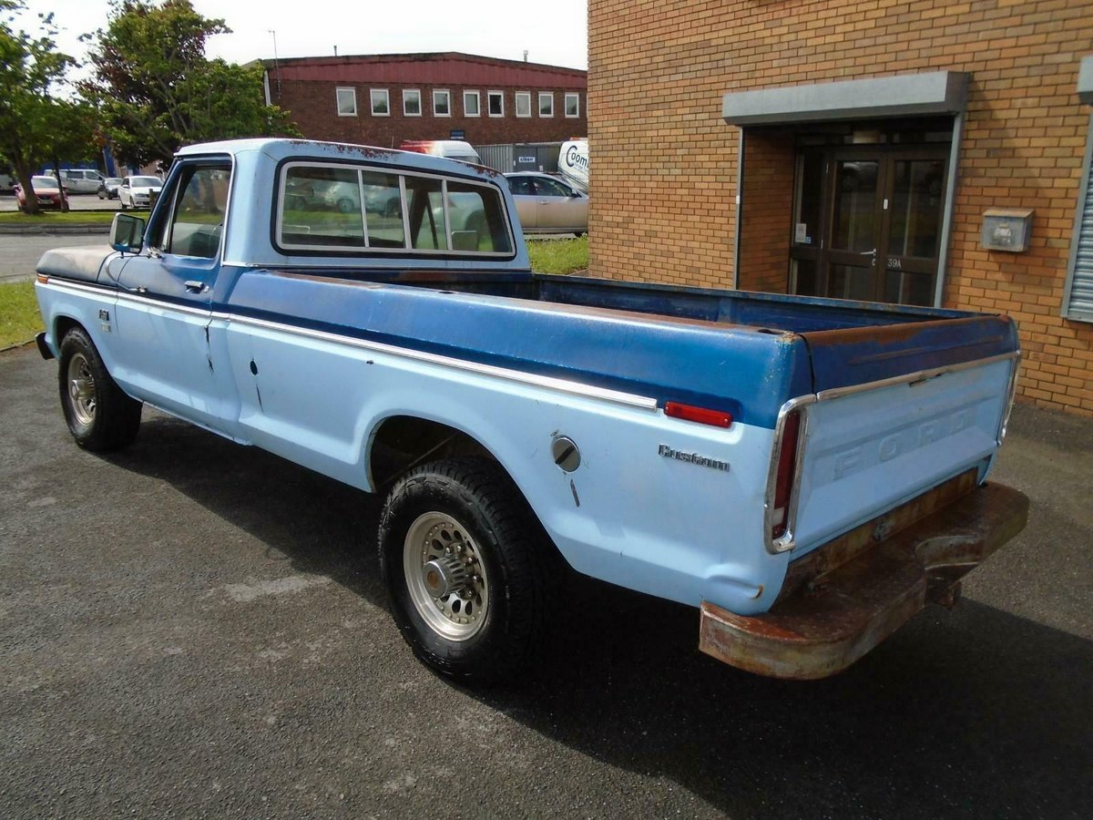 FORD F250 CUSTOM 360 5.9 V8 2WD LWB PICKUP(1976)RUSTFREE! SOLD (picture 5 of 6)