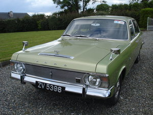 Ford zephyr 6 mk4, v6, manual. 1970.