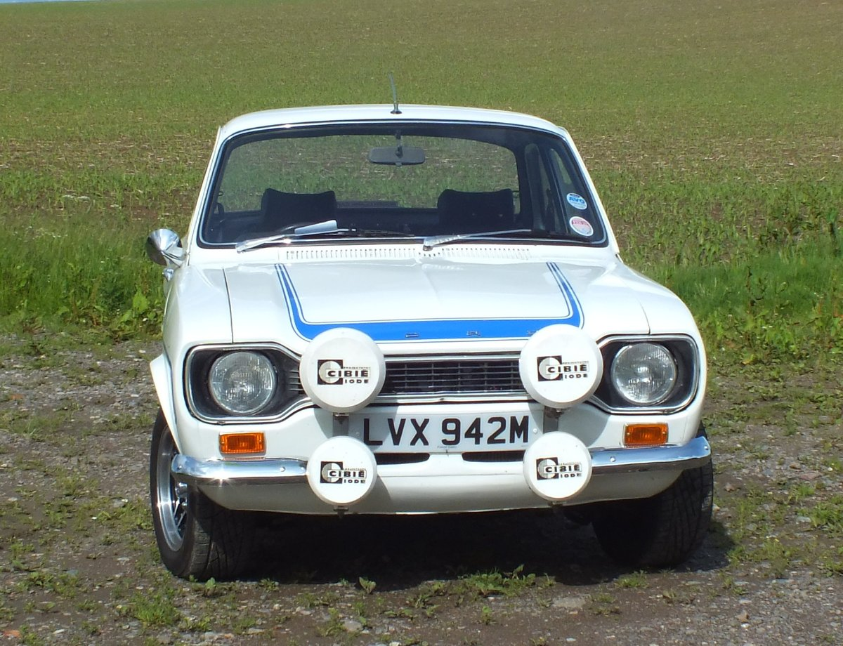 1973 **SOLD** Mk1 Ford Escort RS2000 LVX942M SOLD (picture 2 of 6)