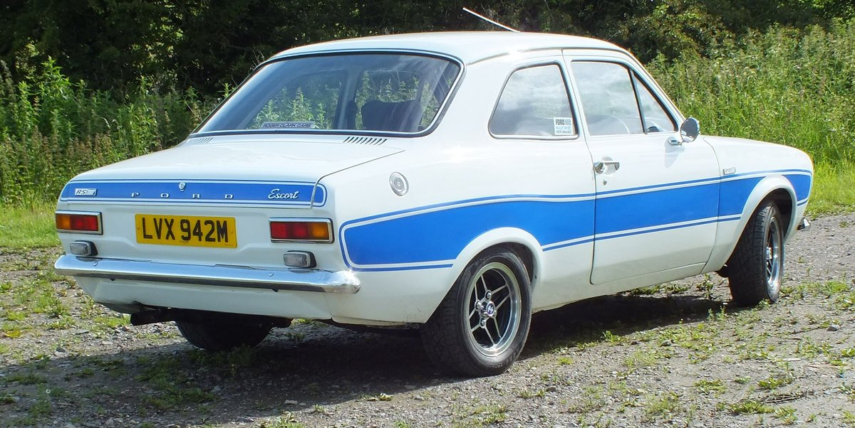 1973 **SOLD** Mk1 Ford Escort RS2000 LVX942M SOLD (picture 4 of 6)