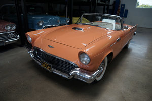 Original California 1957 Ford Thunderbird Convertible SOLD
