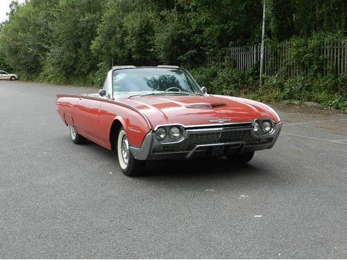 1961 Ford Thunderbird Convertible For Sale (picture 1 of 6)