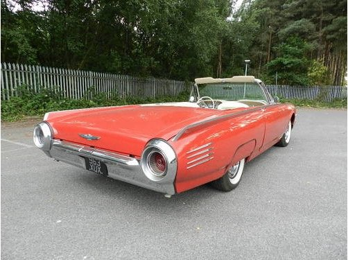 1961 Ford Thunderbird Convertible For Sale (picture 2 of 6)