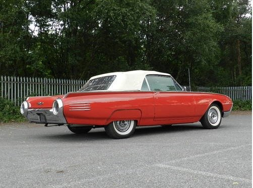 1961 Ford Thunderbird Convertible For Sale (picture 3 of 6)