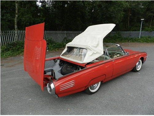 1961 Ford Thunderbird Convertible For Sale (picture 4 of 6)