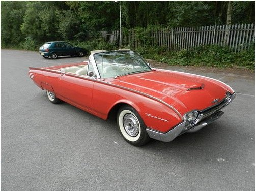 1961 Ford Thunderbird Convertible For Sale (picture 6 of 6)