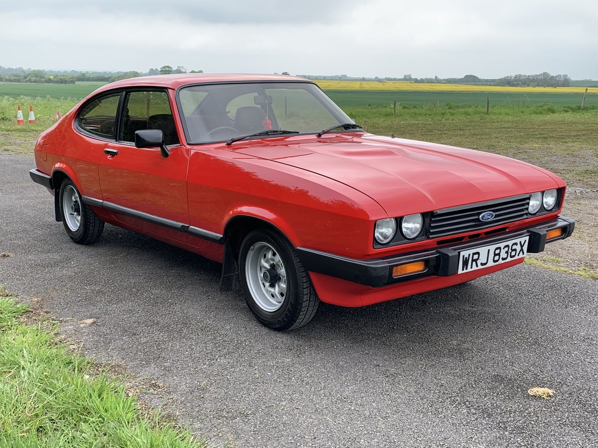 1982 Ford Capri 1.6GL Mk.III For Sale (picture 1 of 6)