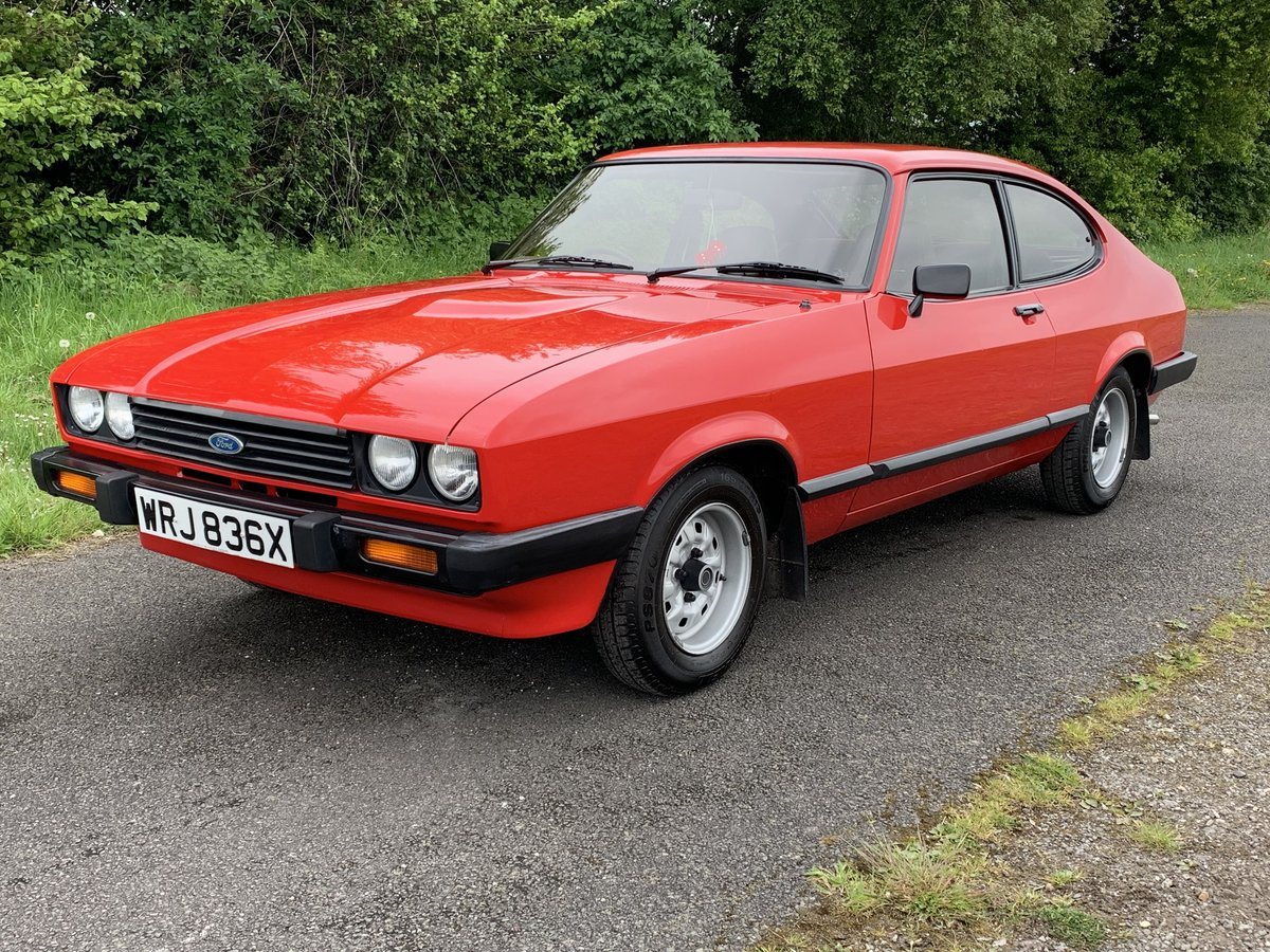 1982 Ford Capri 1.6GL Mk.III For Sale (picture 2 of 6)