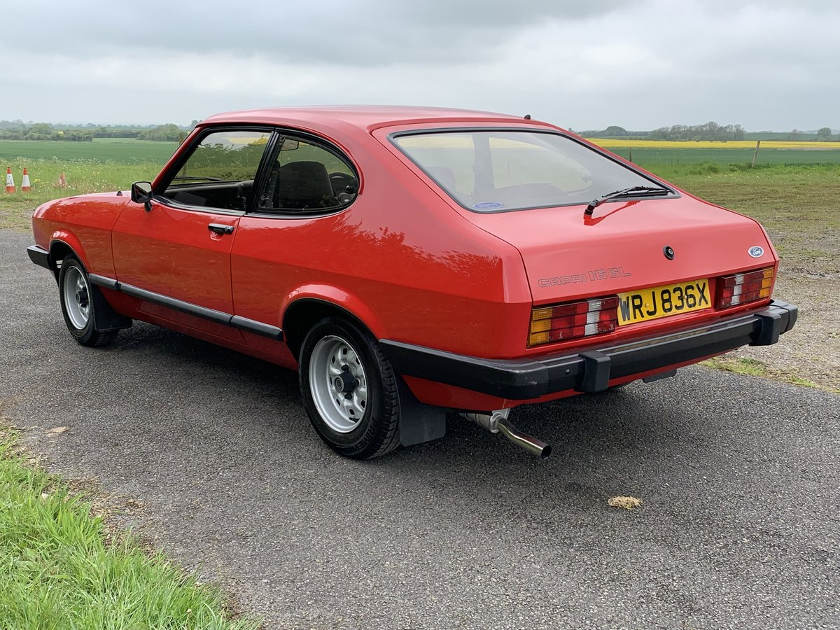 1982 Ford Capri 1.6GL Mk.III For Sale (picture 3 of 6)