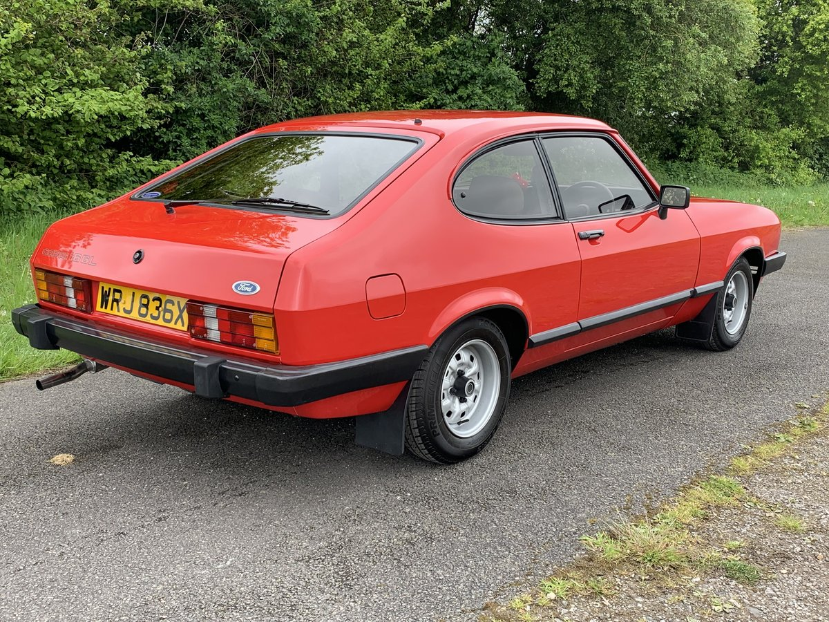 1982 Ford Capri 1.6GL Mk.III For Sale (picture 4 of 6)