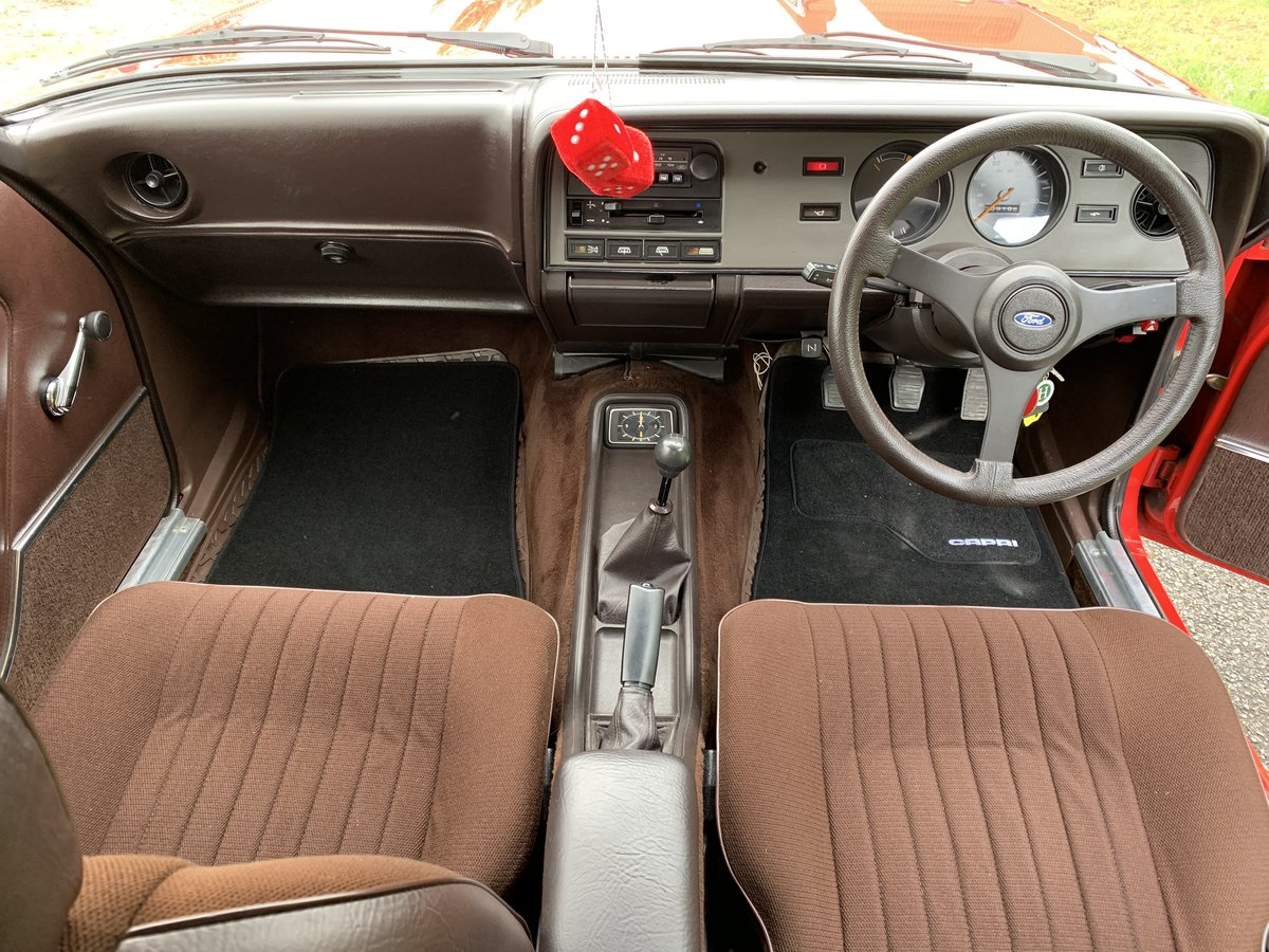 1982 Ford Capri 1.6GL Mk.III For Sale (picture 5 of 6)