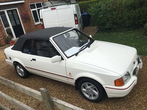 1988 Ford Escort XR3i Cabriolet Much Loved Car For Sale