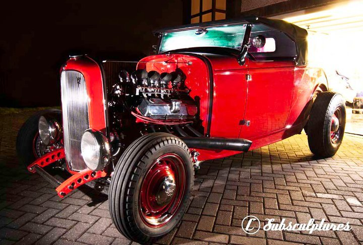 1932 Ford Model B Highboy Roadster V8 Hot Rod For Sale (picture 1 of 6)