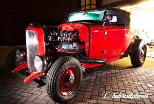 1932 Ford Model B & all Hot Rods