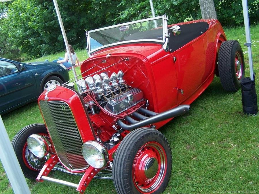 1932 Ford Model B Highboy Roadster V8 Hot Rod For Sale (picture 3 of 6)
