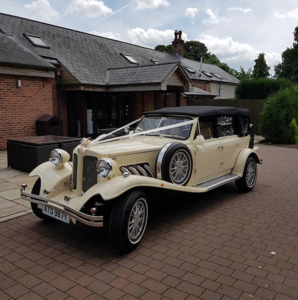 2007 4 Door Ford Beauford Wedding Car