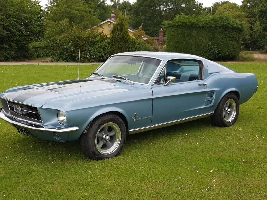 1967 Ford Mustang Fastback V8 and a four speed  For Sale (picture 1 of 6)