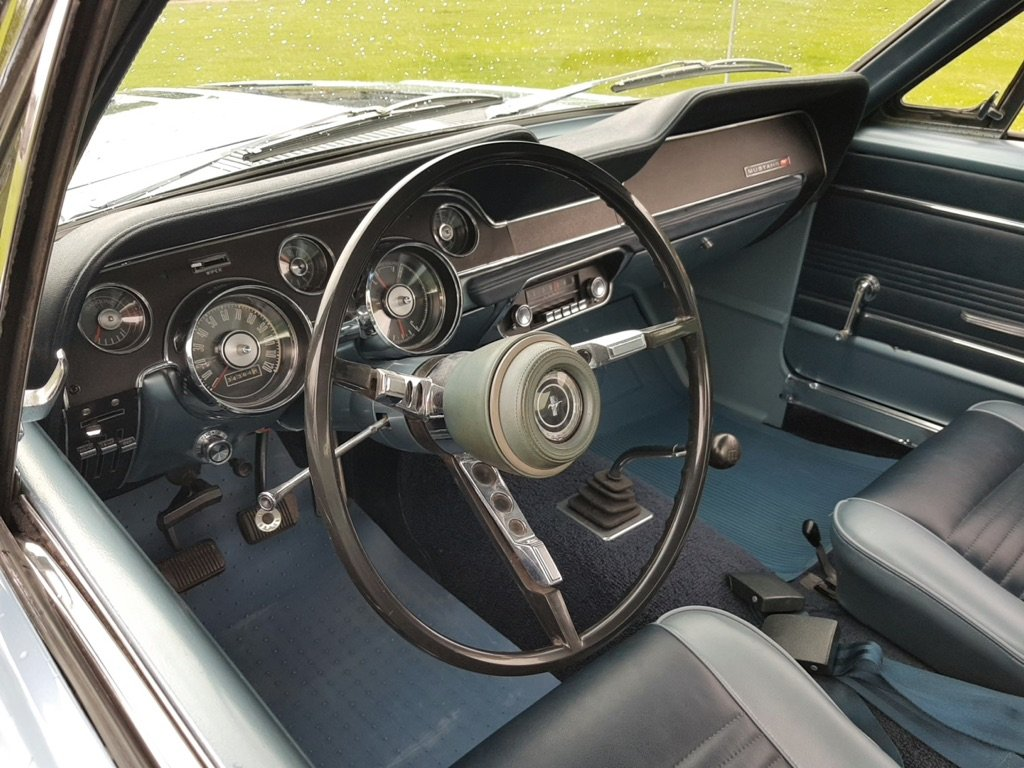 1967 Ford Mustang Fastback V8 and a four speed  For Sale (picture 5 of 6)