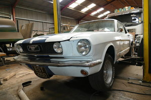 1966 Ford Mustang, 3,300 cc. For Sale by Auction